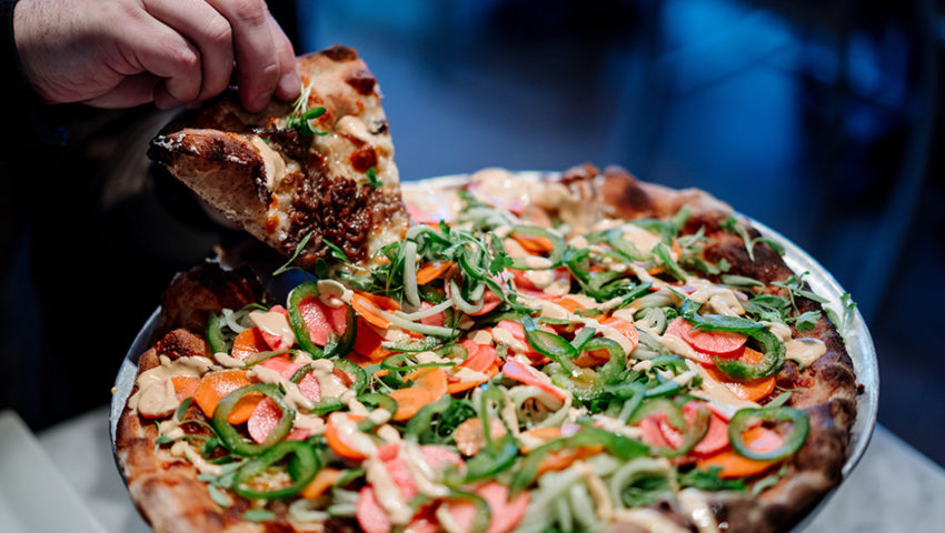 Bite of the Week: Banh Mi Pizza at Red Wagon Pizza Co.