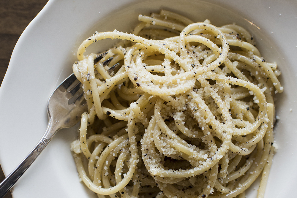 Cacio e Pepe at Hyacinth // Photo by Erin Hudson