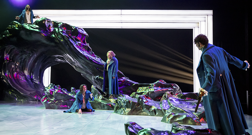 Bold sound and set design elevates the Guthrie's 'Frankenstein' to new heights