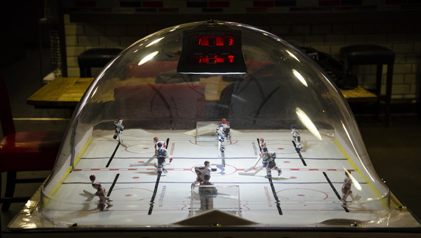 Let's Play (Bubble) Hockey: The iconic bar game inspired by the Miracle on Ice