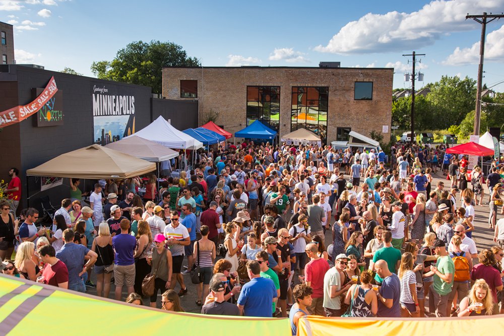 The 2018 In Cahoots Festival in NE Minneapolis, Minnesota // Photo by Eric Melzer