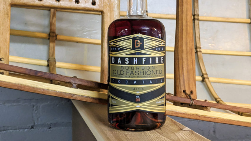 Dashfire debuts a bottled old fashioned you can't make at home