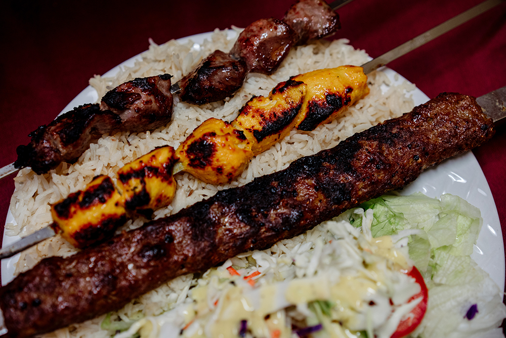 The Sultan Kebab // Photo by Becca Dilley