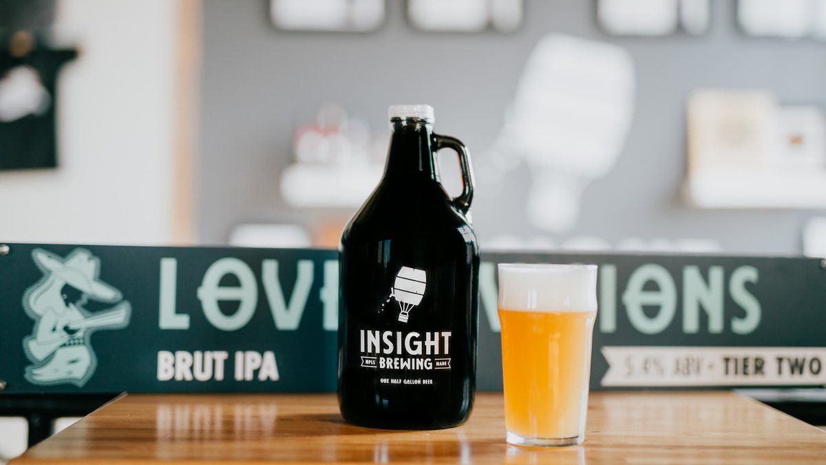 Insight Brewing Company's Lovely Visions // Photo via Insight Brewing Company Twitter
