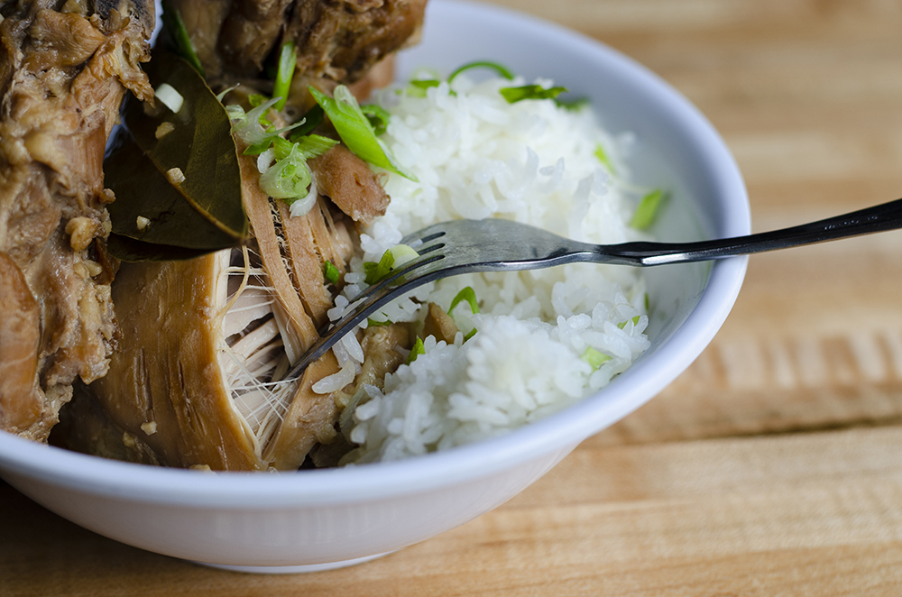 The Chicken Adobo at Mi Casa Su Casa // Photo by Aaron Job