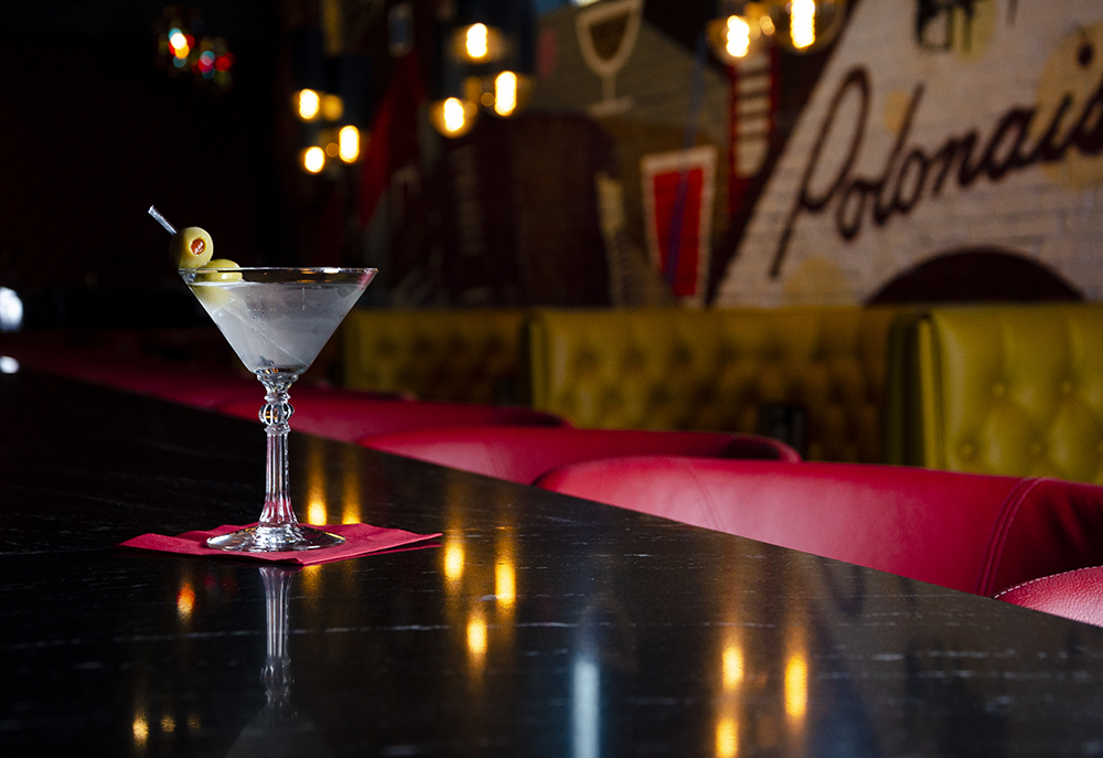 A Martini at Nye's Bar // Photo by Aaron Job