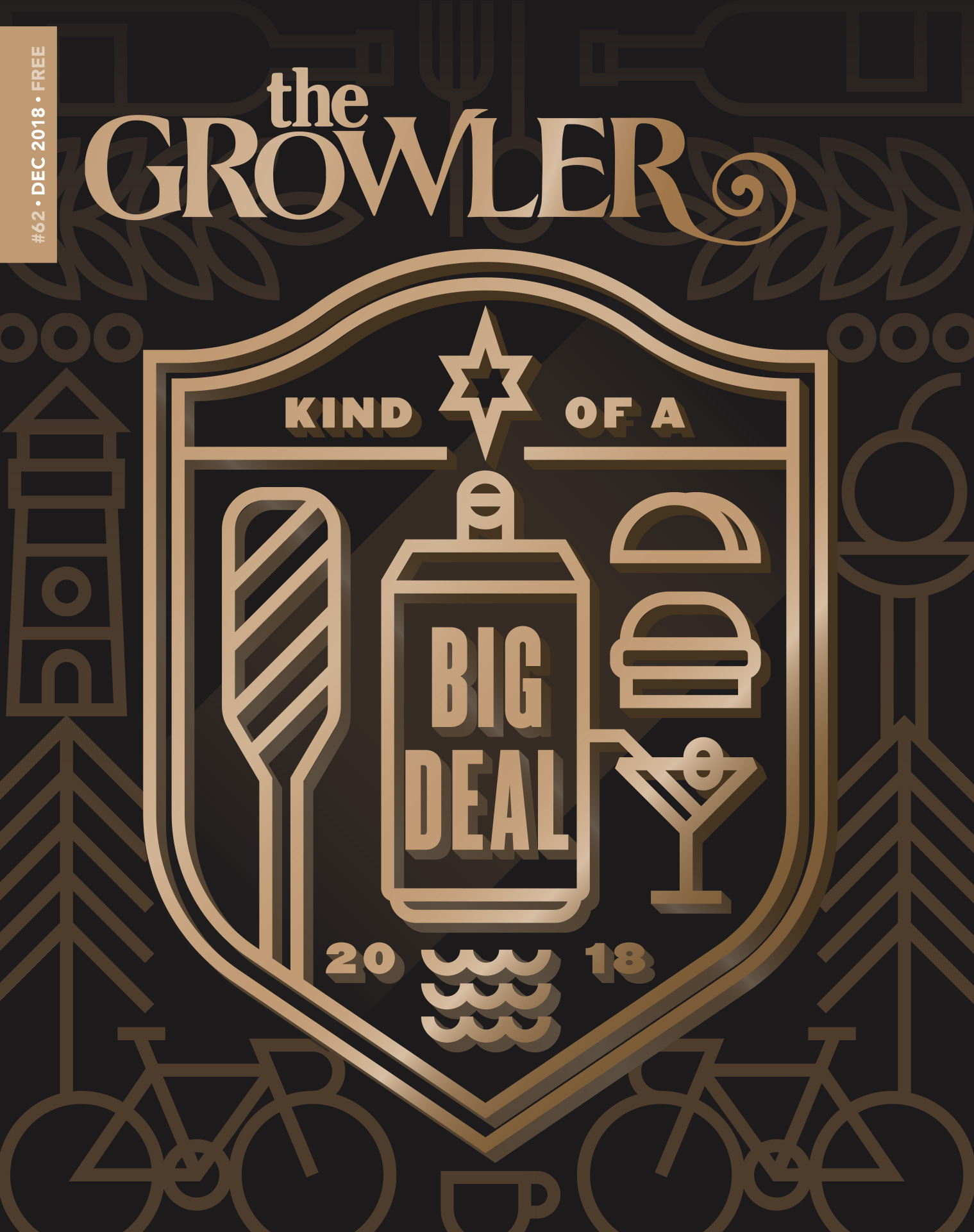 "The Growler's ""Kind-of-a-Big-Deal Readers' Choice Awards 2018"" cover art by Matt Erickson"
