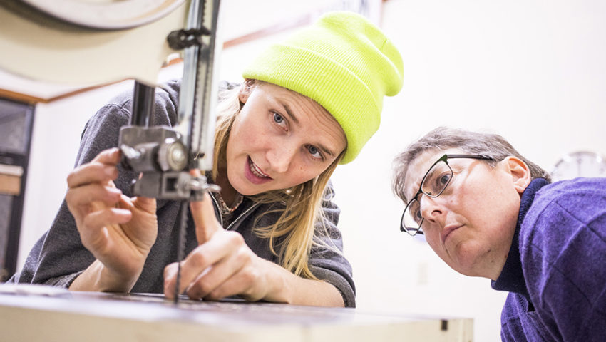 Carpentry and Community at Women's Woodshop