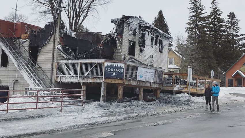 'We will rebuild': Portage Brewing Company picking up pieces after catastrophic fire