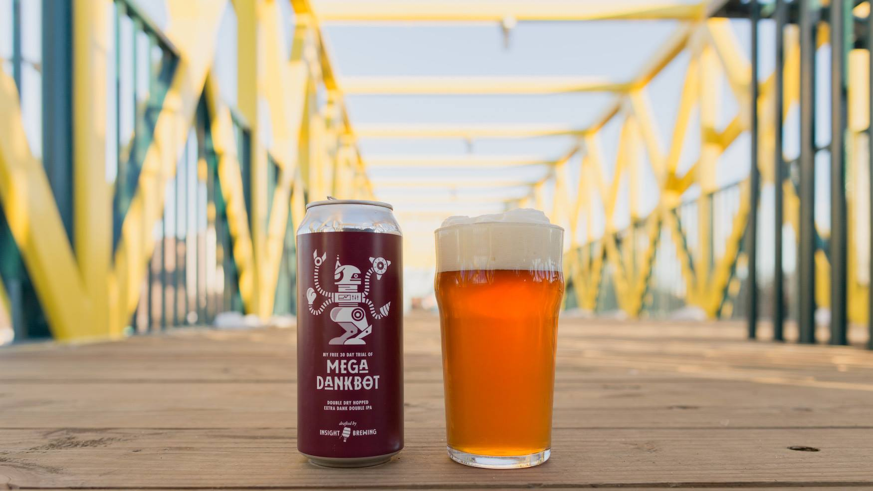 Insight Brewing Mega Dankbot // Photo via Insight Brewing Company's Facebook