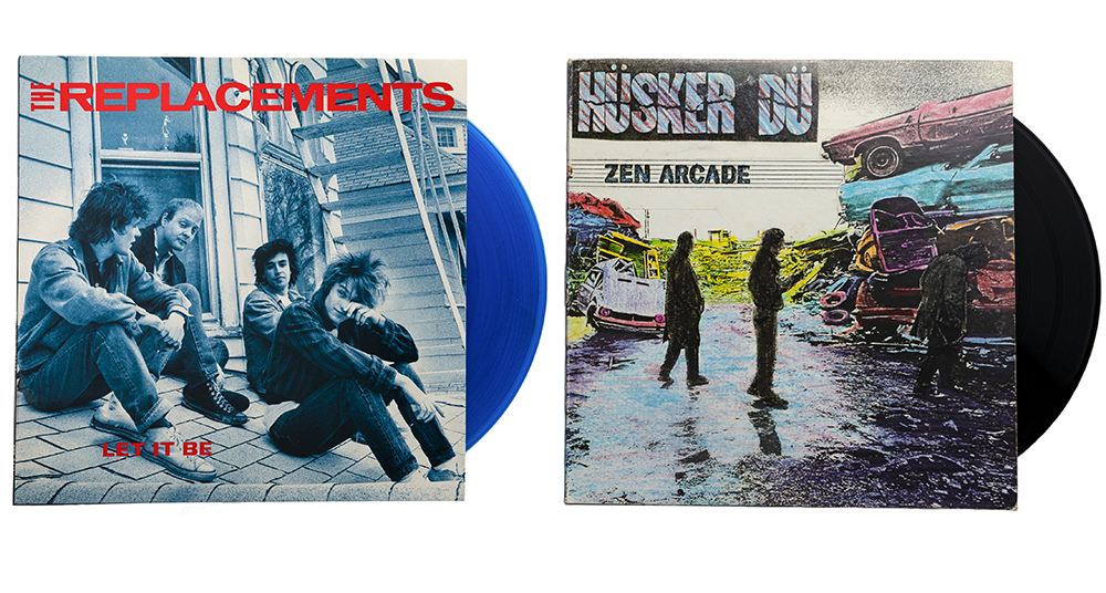 "The Replacements ""Let It Be"" and Hüsker Dü's ""Zen Arcade // Photo by Aaron Job"