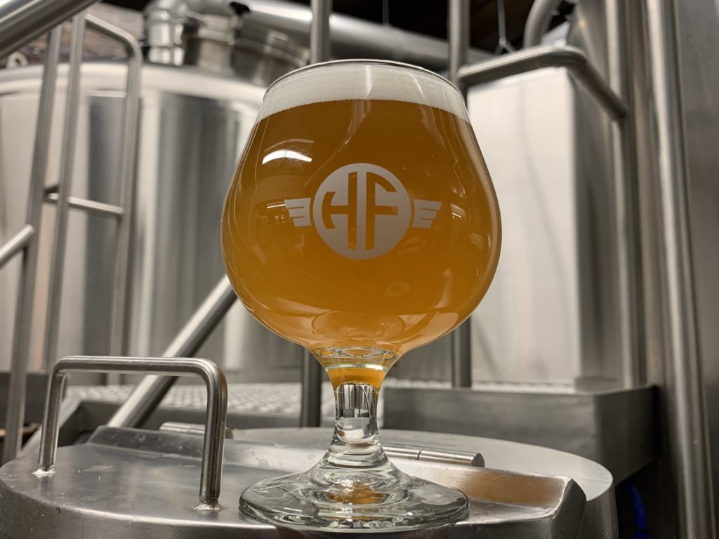 Headflyer Brewing Company's Tart IPA // Photo courtesy Headflyer Brewing Company