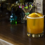 The Morelos Sour, a bourbon sour from Popol Vuh // Photo by Aaron Job