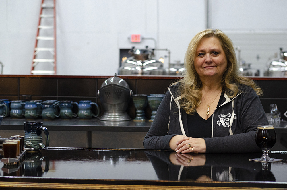 Lori Ertl, co-founder of Under Pressure Brewing Company in Golden Valley // Photo by Aaron Job