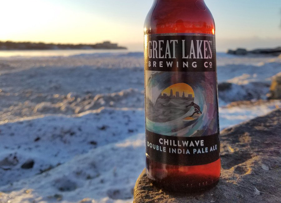 Great Lakes Brewing Company's Chillwave // Photo via Great Lakes Brewing Company Twitter
