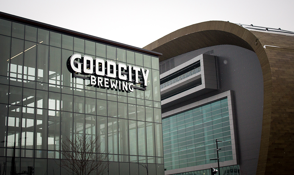 Good City Brewing Company's Downtown location // Photo courtesy Good City Brewing Company