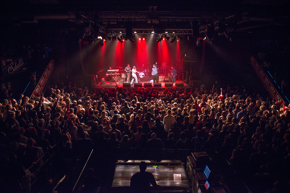 Heiruspecs performing at First Ave // Photo by Nate Ryan, MPR