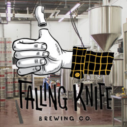 Falling Knife has no handle, but it does have a brewhouse