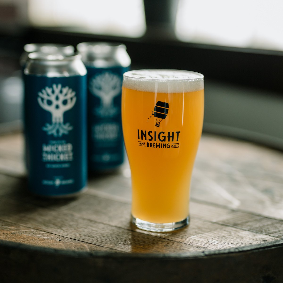 Insight Brewing Wicked Thicket // Photo via Insight Brewing Twitter