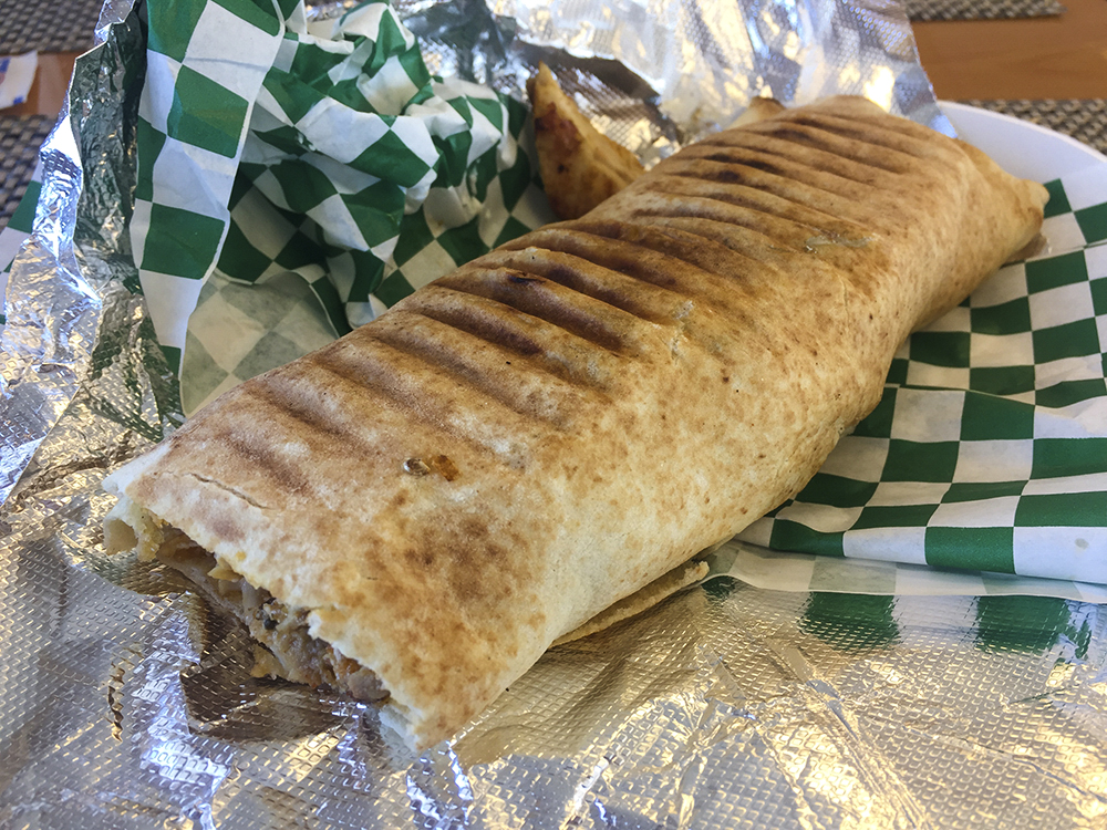 Chicken Schwarma Wrap at Sultan Lebanese // Photo by James Norton