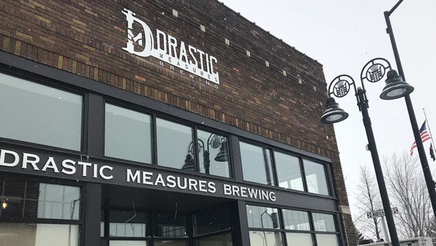 Now Open (Or Damn Close): Drastic Measures Brewing in Wadena