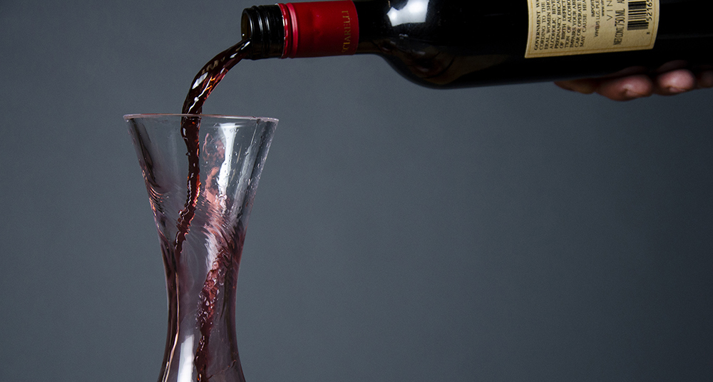 Let It Breathe: When to decant a bottle of wine