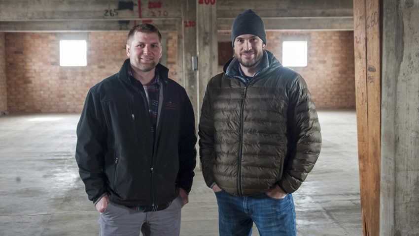 Jace Marti and Nate Gieseke opening Black Frost Distilling Company in New Ulm
