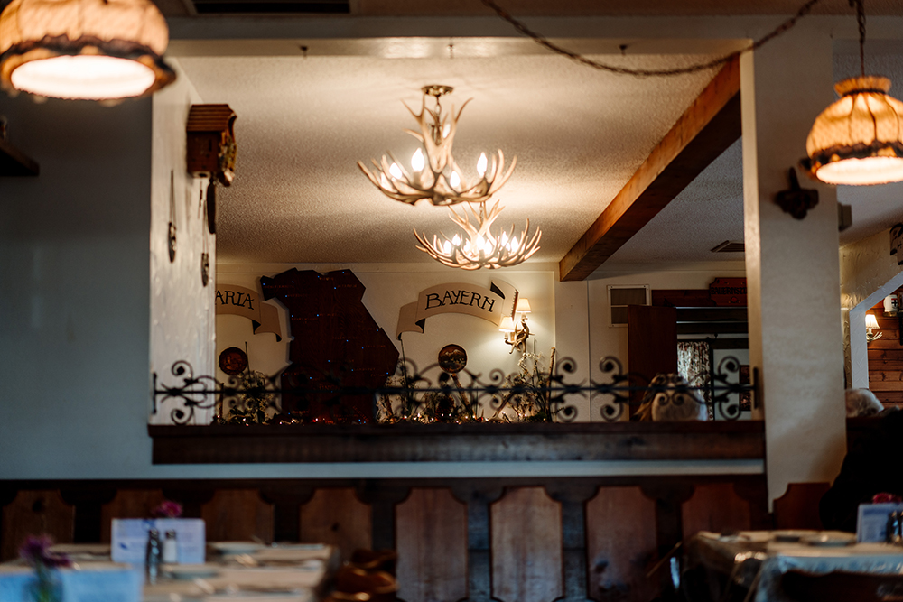 The interior of Gasthaus Bavarian Hunter // Photo by Becca Dilley