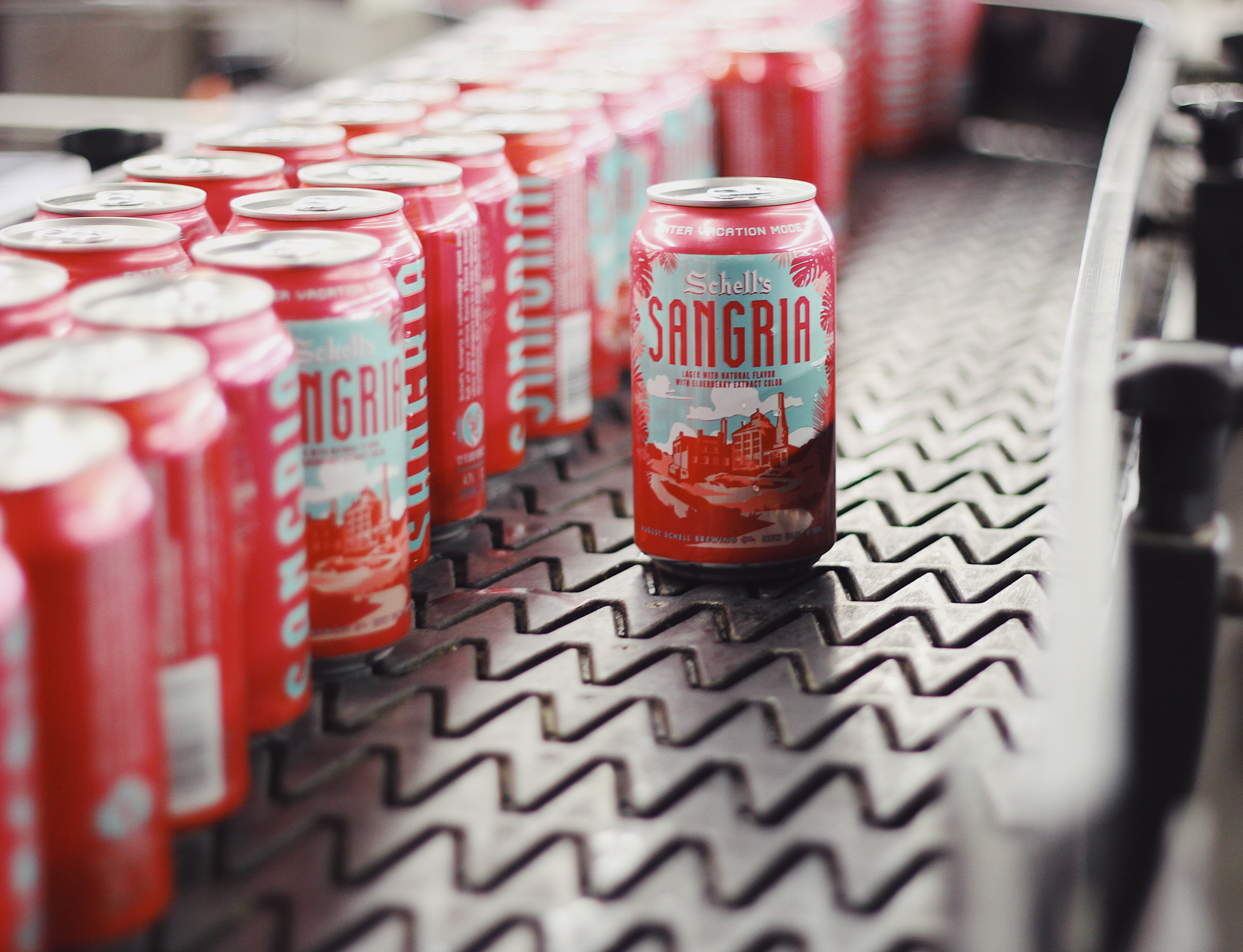 Schell's Sangria // Photo courtesy Schell's Brewery