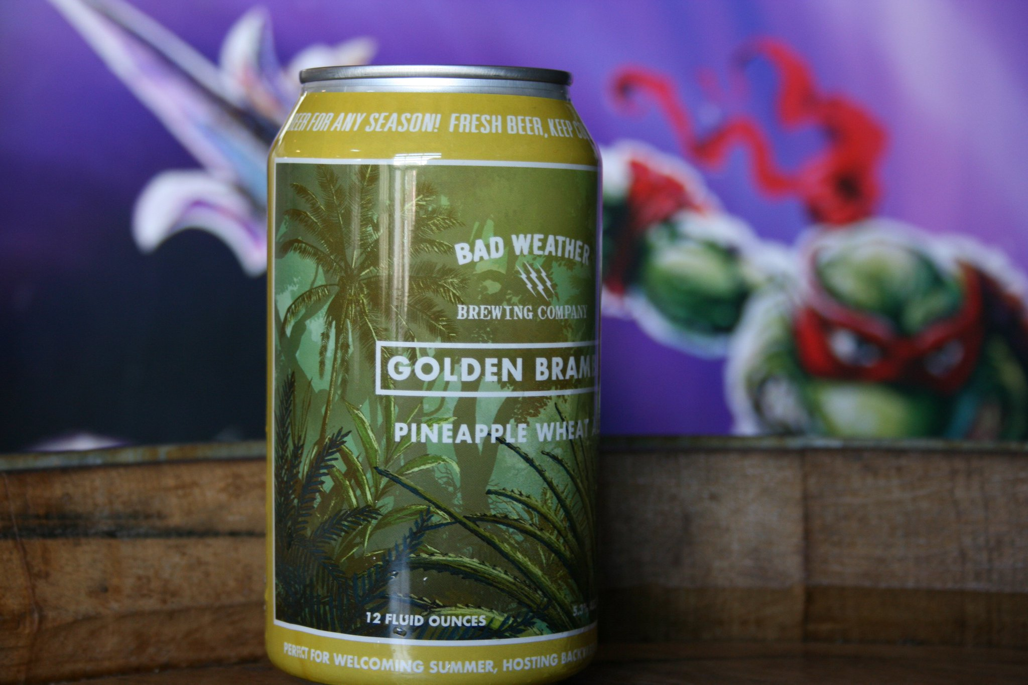 Bad Weather Golden Bramble // Photo via Bad Weather Brewing Company's Twitter