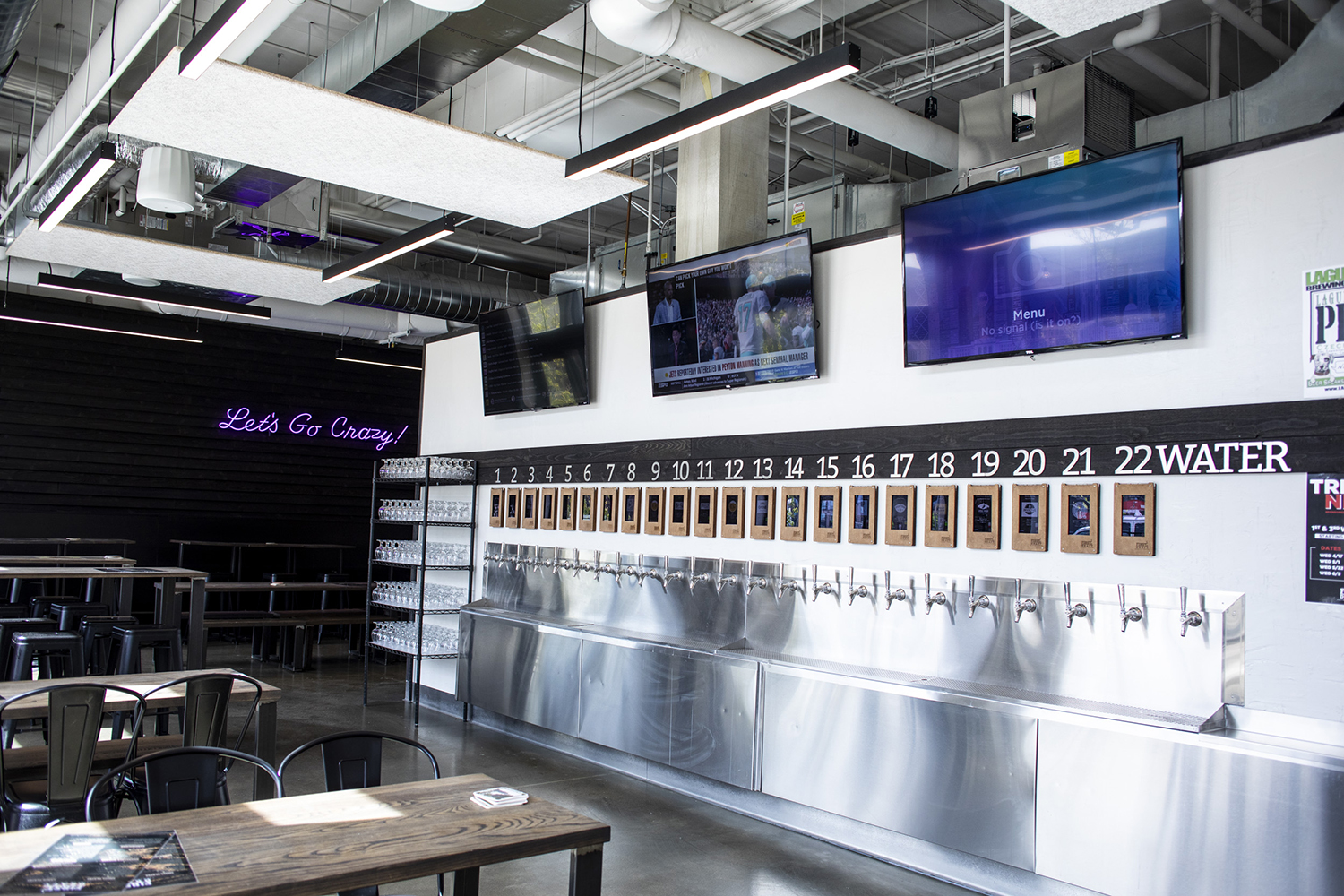 First Draft Taproom & Kitchen in Minneapolis is one of several self-pour bars that have opened in recent years // Photo by Tj Turner