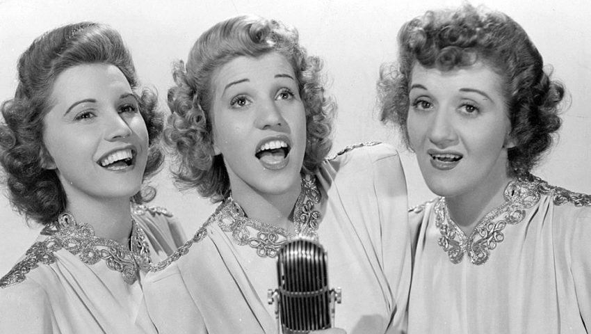 Minnesota's Most Famous Singing Trio: The Andrews Sisters' inventive harmonies buoyed a nation at war and topped the charts