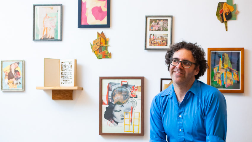 Artist Profile: The world's an endless sea of collaging opportunity for Ben DiNino