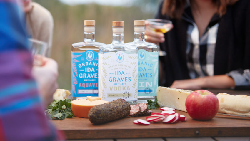 Now Open: Alexandria's Ida Graves Distillery launches honey-based vodka and organic gin