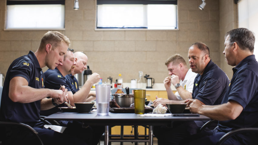 Firehouse Feasts: Building bonds and perfecting recipes around the station's dinner table