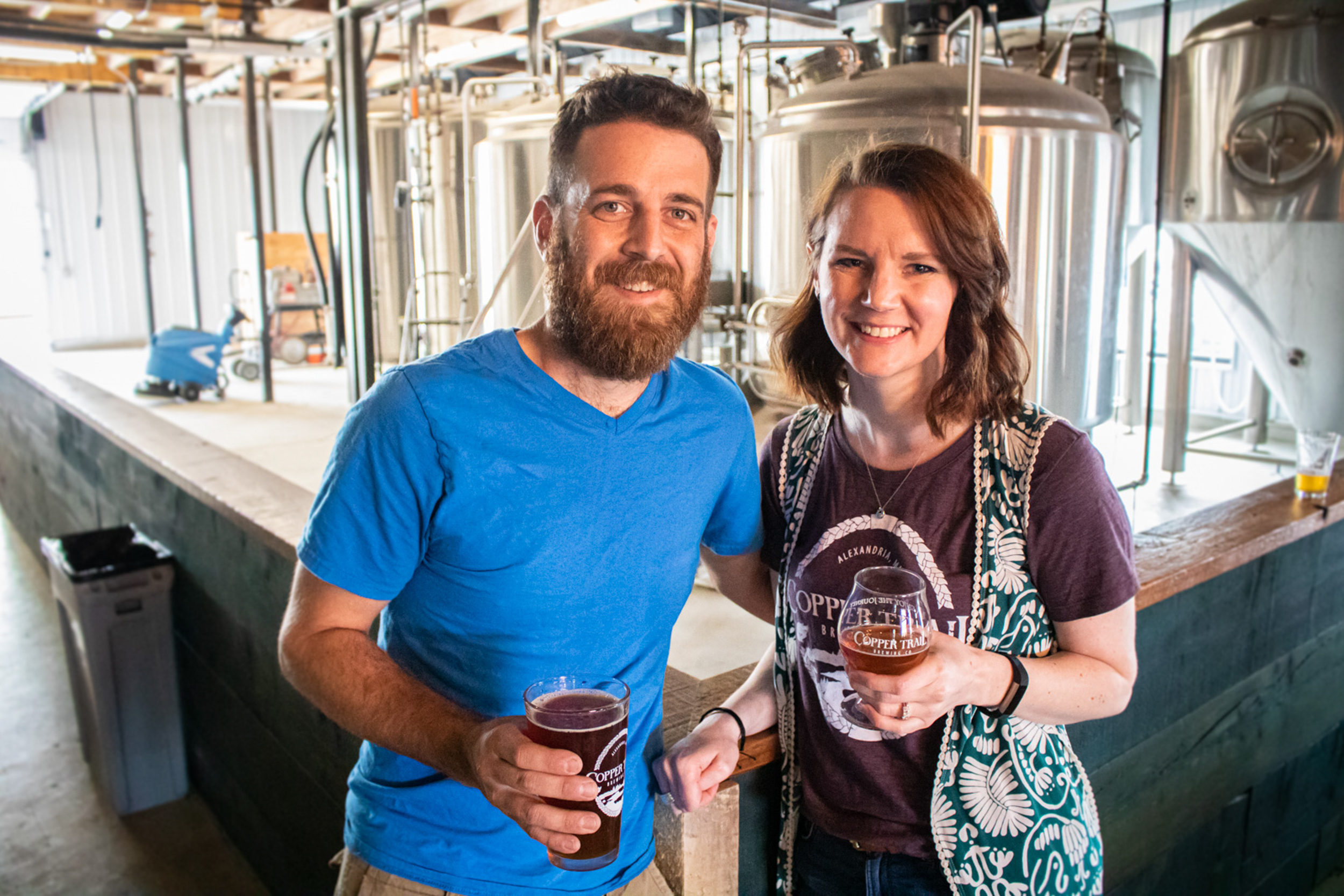 First Look: Copper Trail Brewing Company's new taproom in