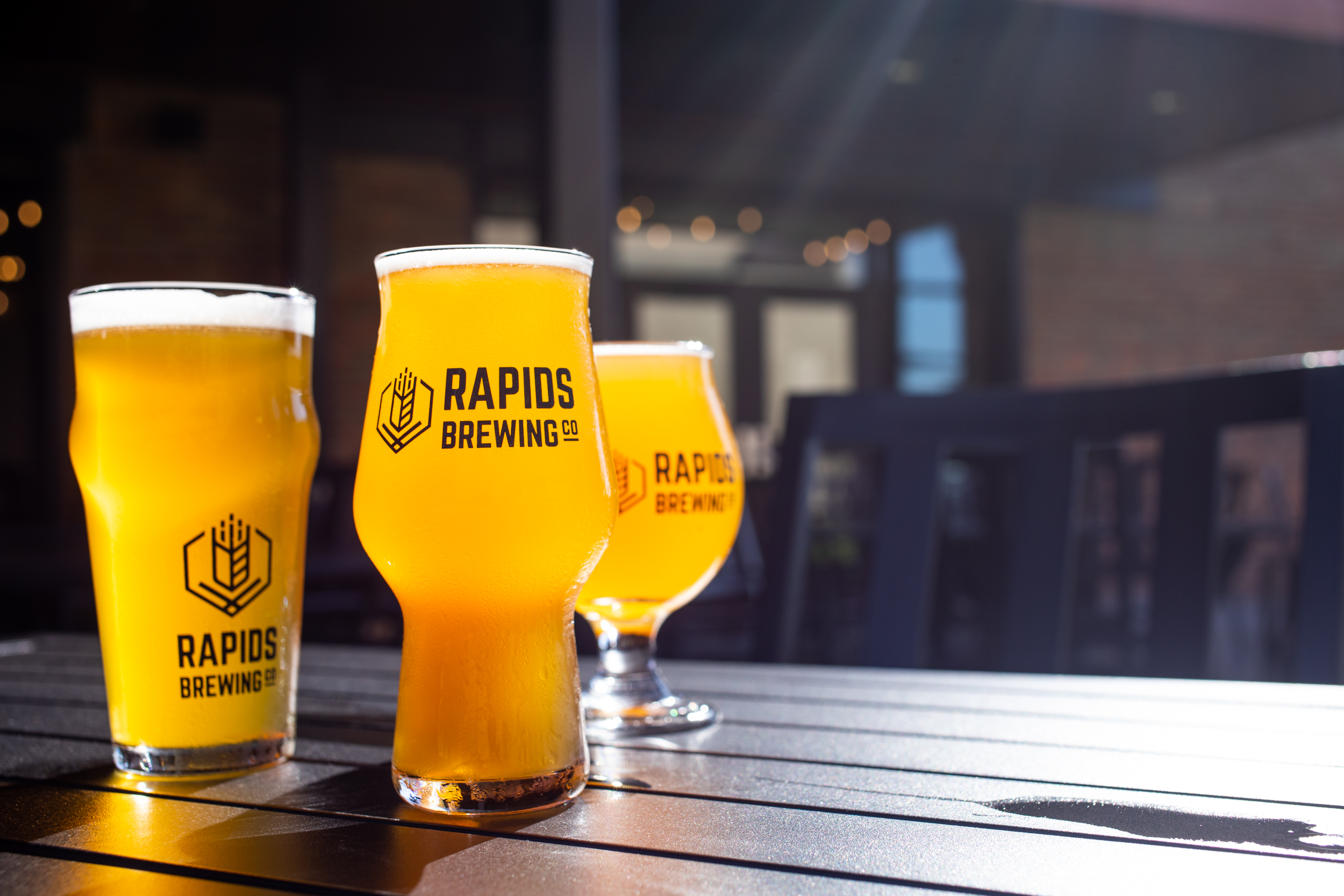 Beer at Rapids Brewing Co. in Grand Rapids, Minnesota // Photo by Tj Turner