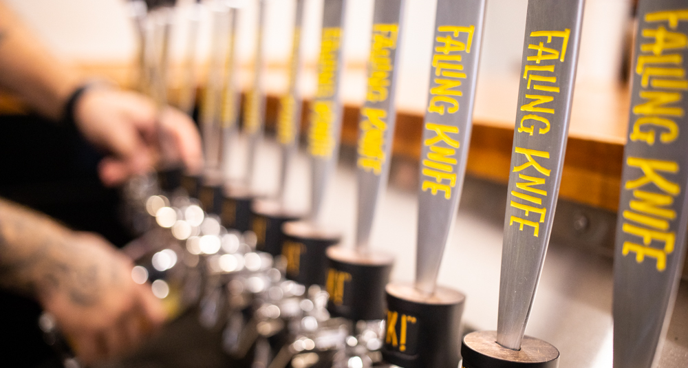 Now Open (Or Damn Close): Falling Knife Brewing Company in Minneapolis