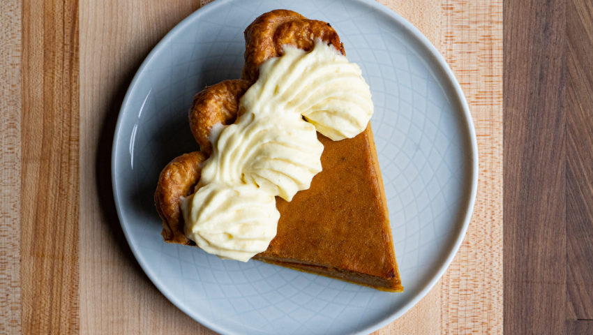 Bite of the Week: Pumpkin pie at Hot Hands Pie & Biscuit