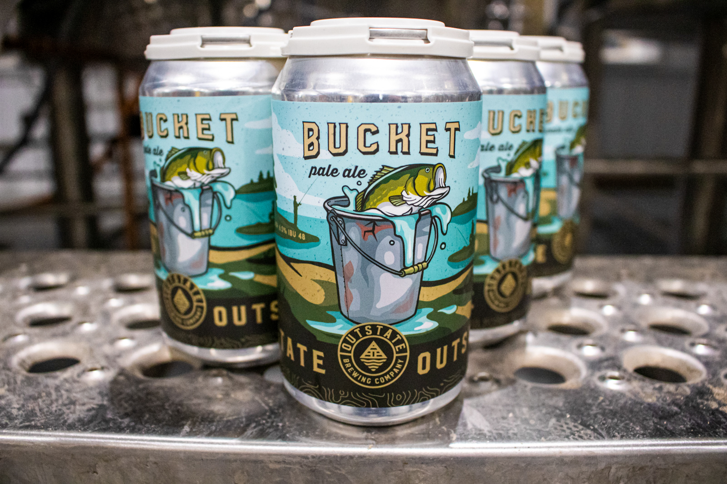 Outstate Bucket Pale Ale // Photo by Adam and Katie Rosanas, Ale Adventures