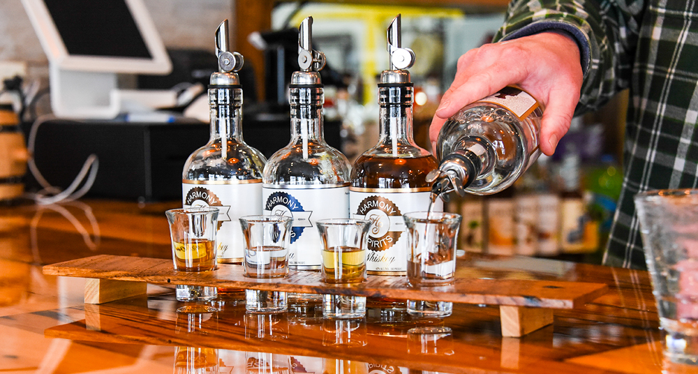 For Harmony Spirits' owners, distilling is second nature