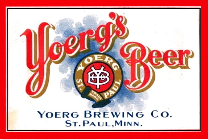 yoerg's label for long neck bottle red 1