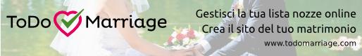 ToDo Marriage - Crea la tua lista nozze online