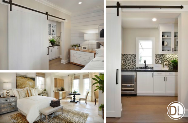 Master Bedroom Kitchenette multi-generational household? there's a mortgage for that