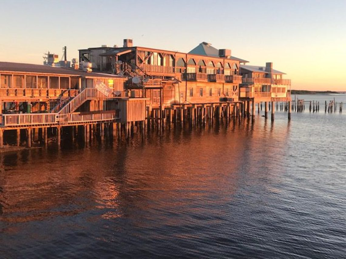 Cedar key dock street sunrise e1547668042357