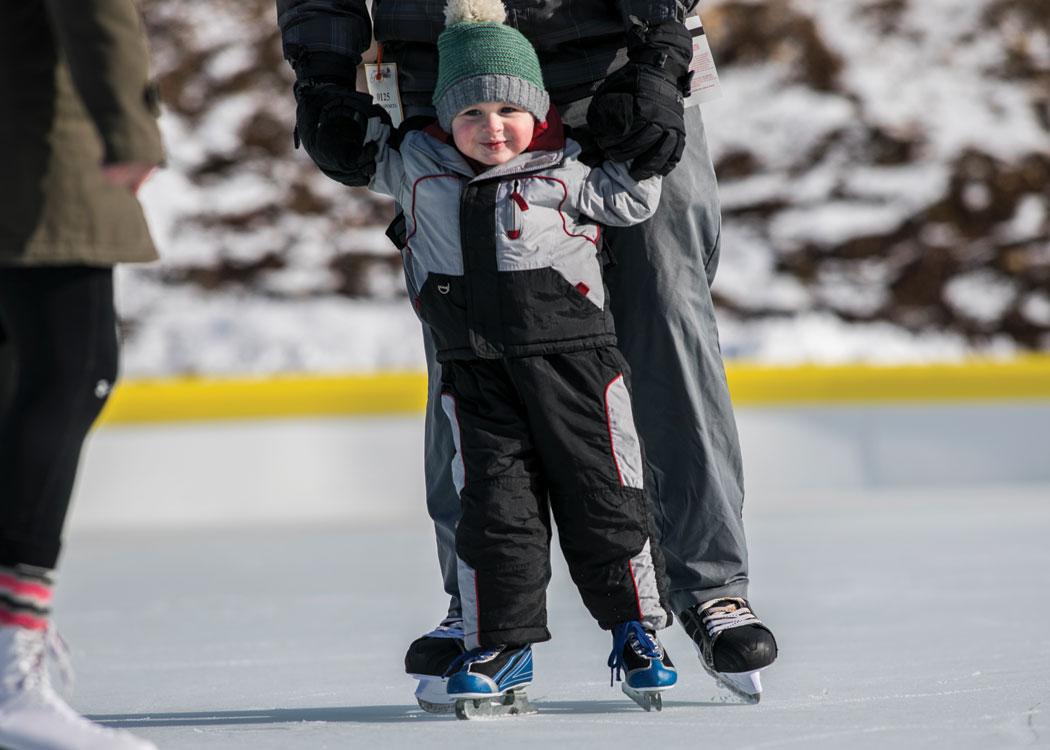 Ice Skating at Grand Geneva