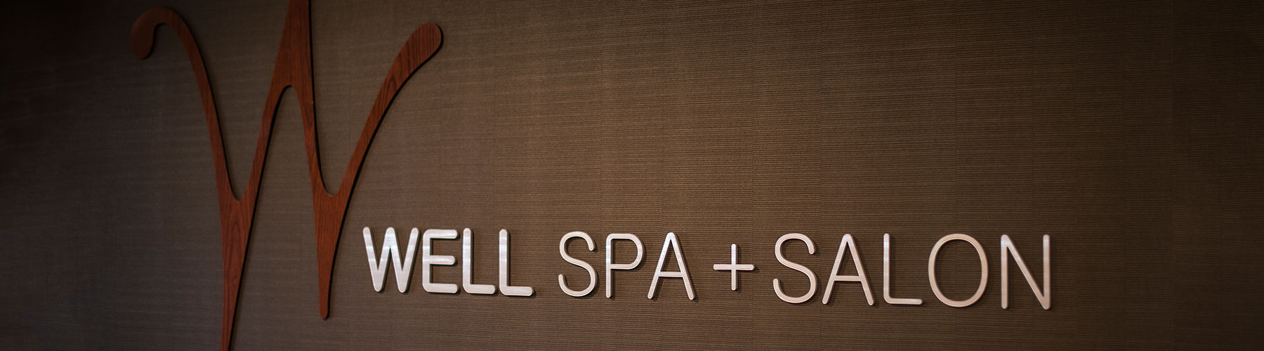 WELL Spa entrance