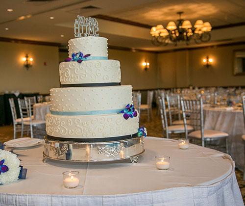 Evergreen Ballroom - Cake