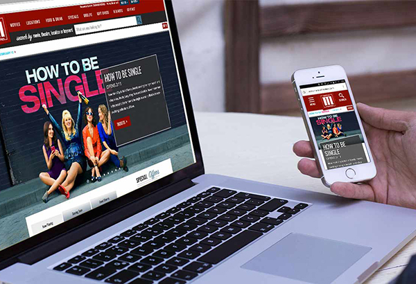 Marcus Theatres Website Redesign
