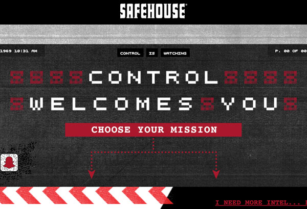 SafeHouse Chicago Before Redesign